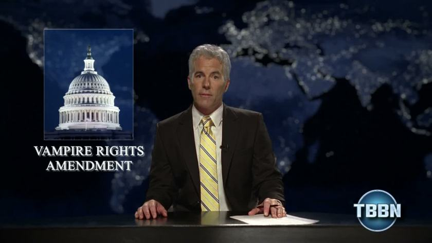 News show about the Vampire Rights Amendment